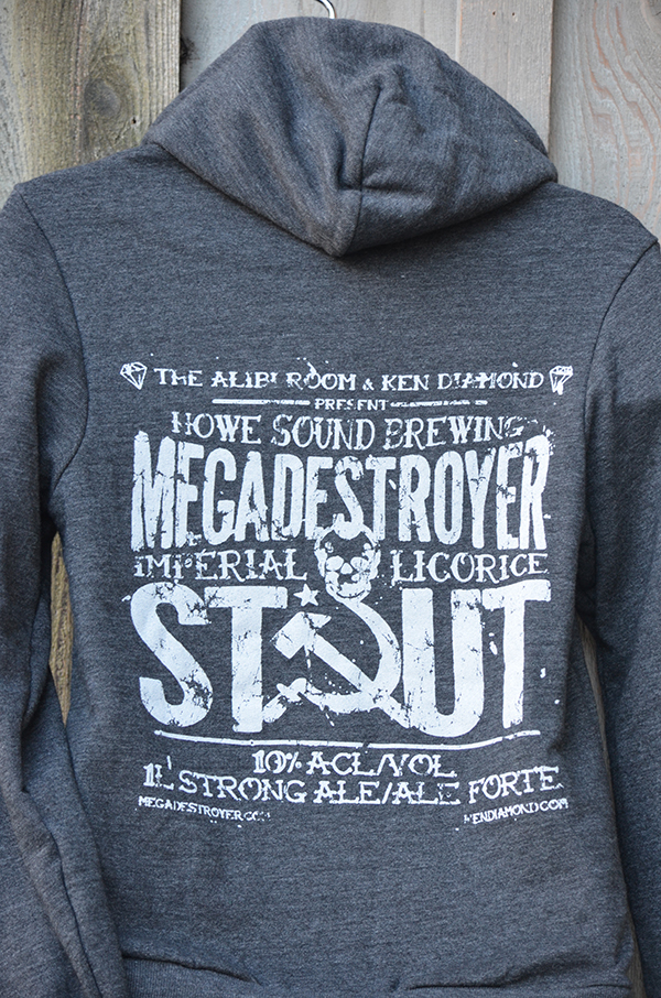 Black Megadestroyer Hoodie(rear)