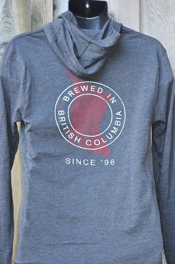 Dk Grey Hooded LS (back)- $25