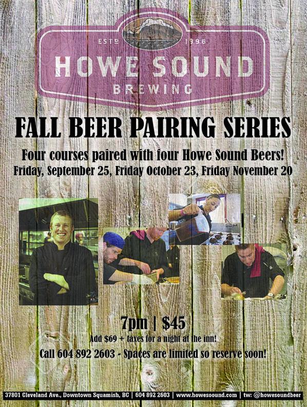 fall beer pairing series