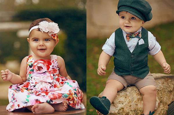 collezione petit primavera estate neonato