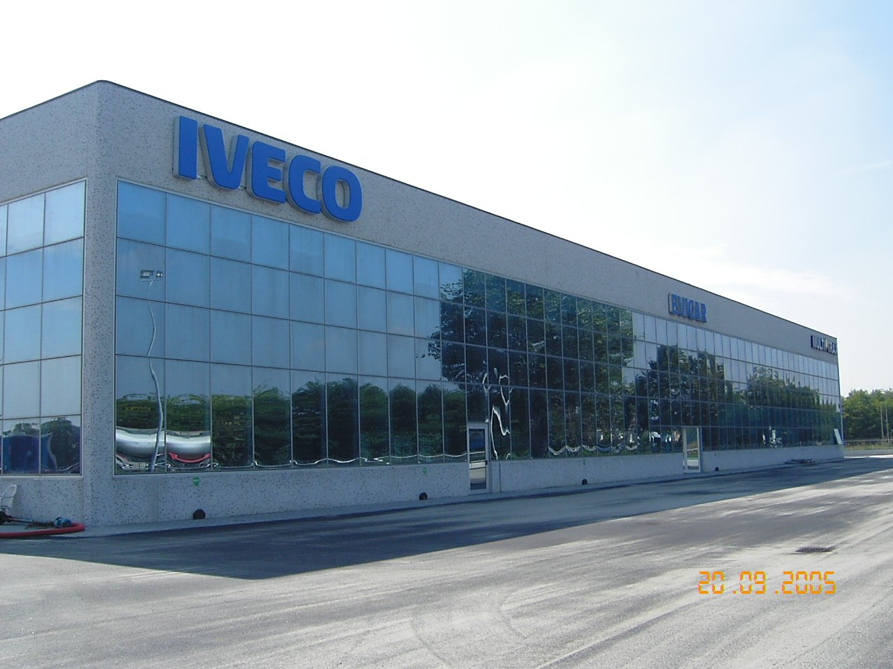 esterno dell'edificio Iveco