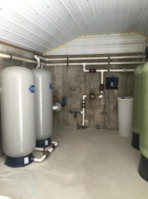 Community Water System Well Pump & Treatment Station Monitored by NH Certified Water Operator