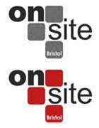 On site logo