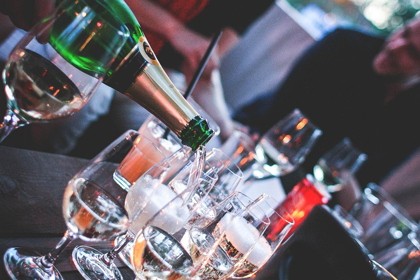 Wine bars in Canary Wharf