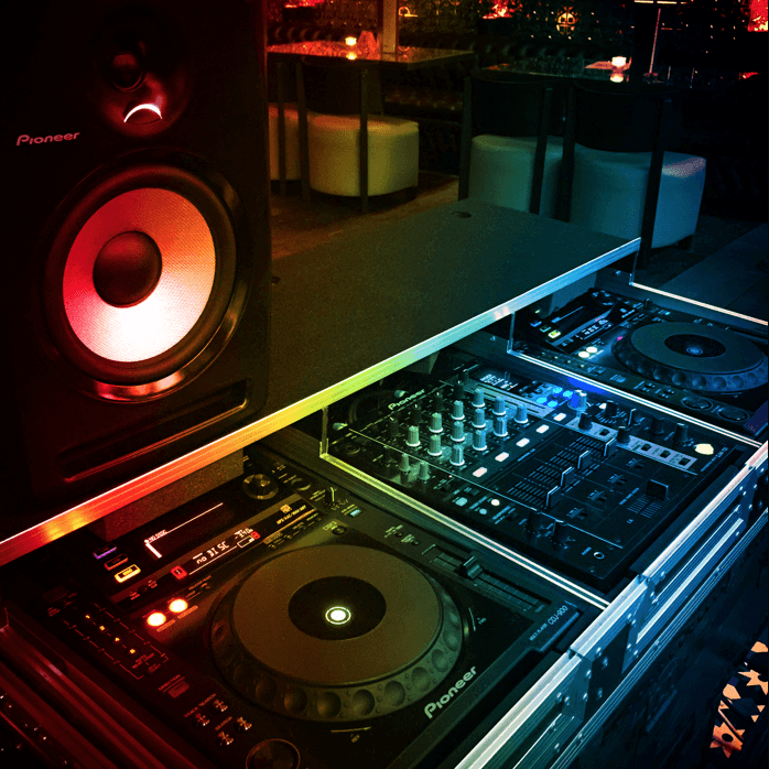 DJ bar in canary wharf