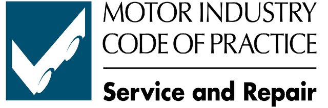 Motor industry code of practice logo