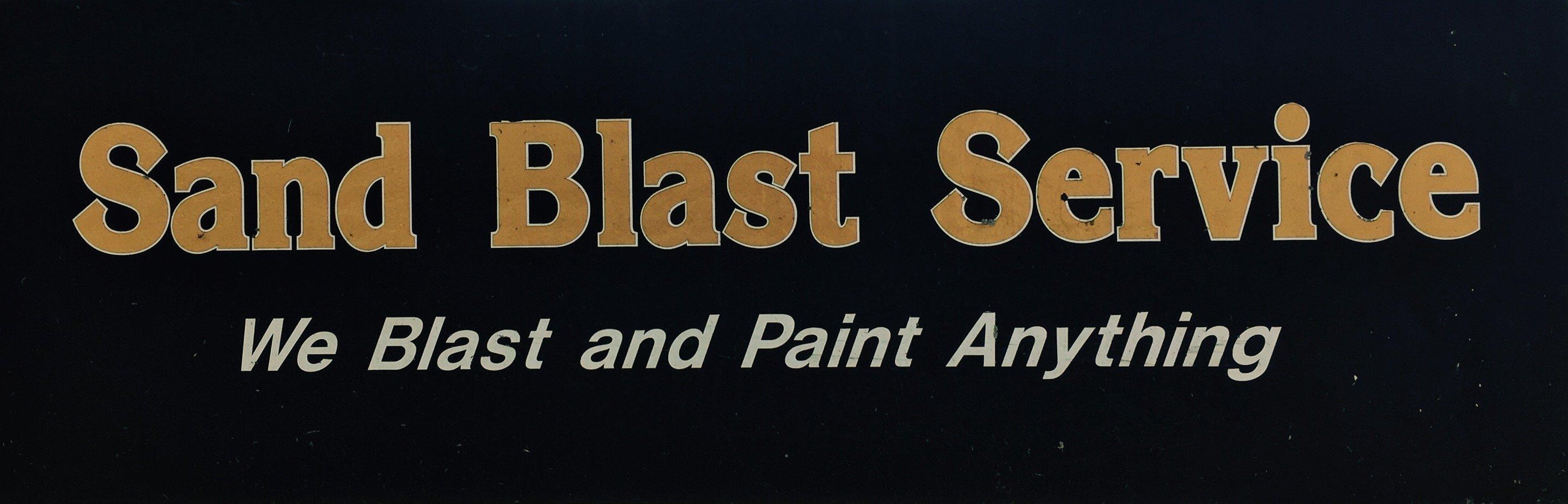 Sandblast Service logo
