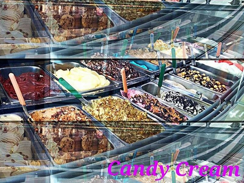 Assortimento gelato artigianale