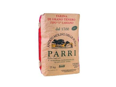 farina grezza lariano
