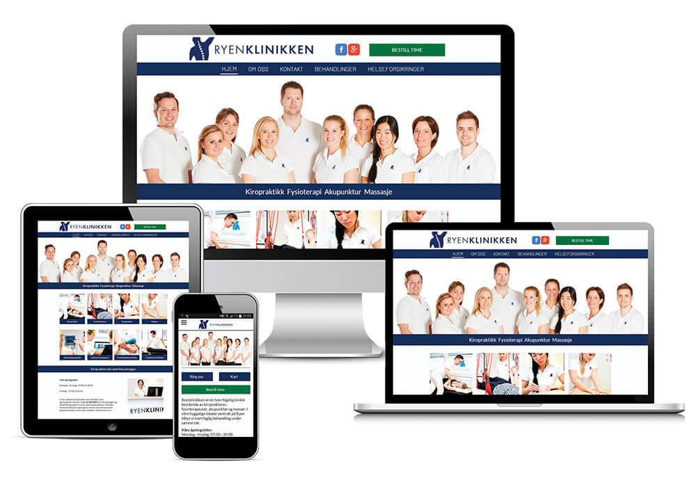 Ryenklinikken-responsivt-design-nettside