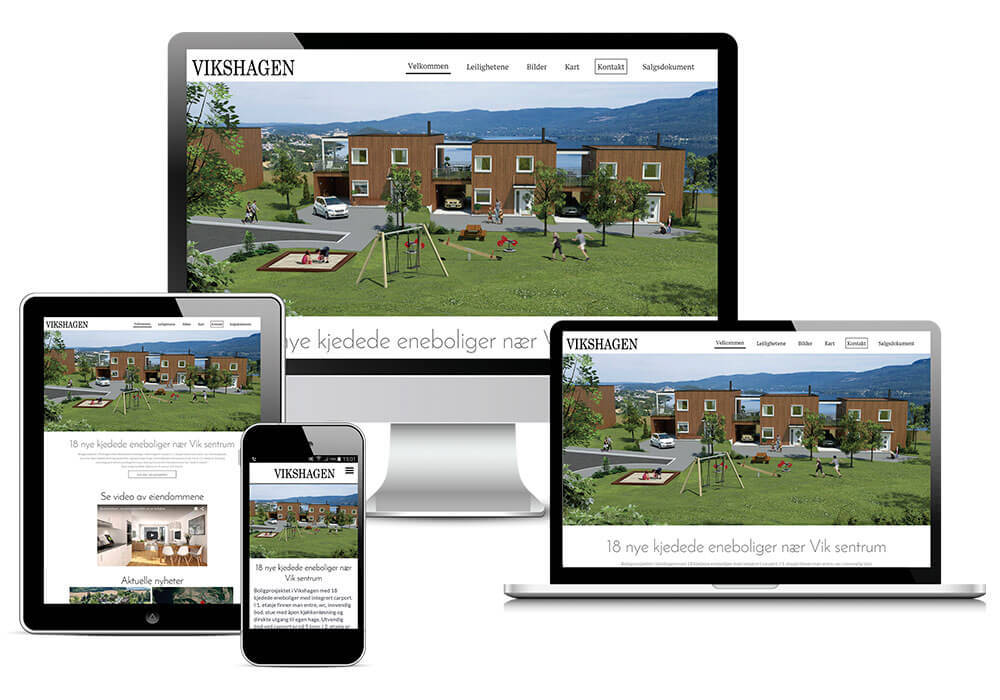 Vikshagen-responsivt-design-nettside