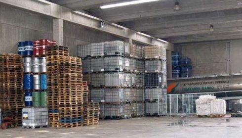 stoccaggio rifiuti, trattamento rifiuti, smaltimento liquidi