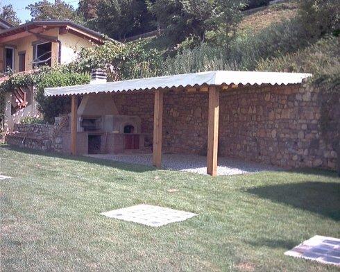 copertura classica portico