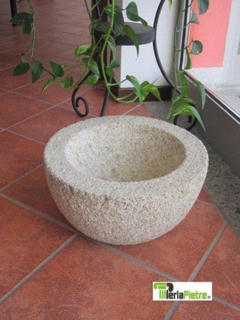 ciotola in pietra