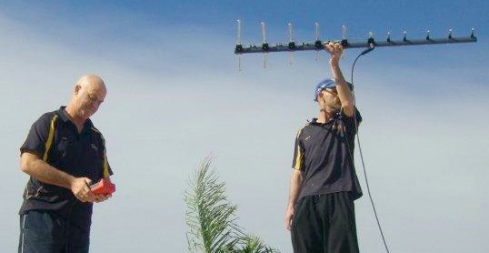 marsdens antenna systems two men handling