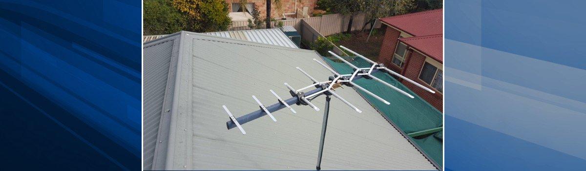 marsdens antenna systems analogue tv antenna on top