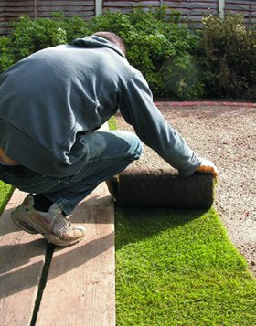 Garden clearance - Hull - RJ Garden Services - Turfing