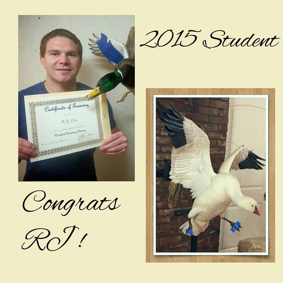 Blue Ribbon Birds Training Winner