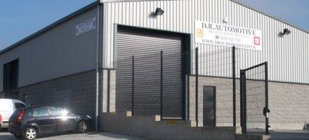 workshop shutters