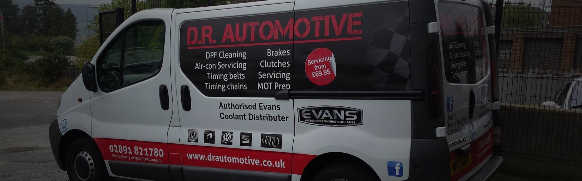 Complete vehicle servicing