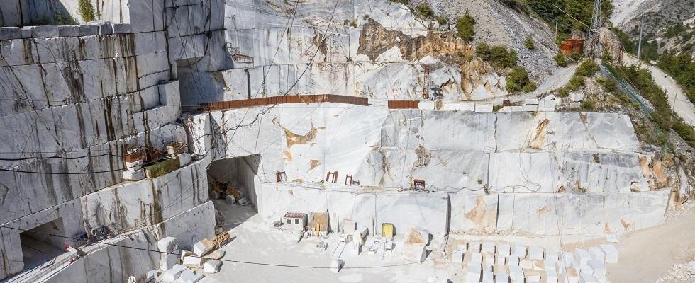 cava di marmo