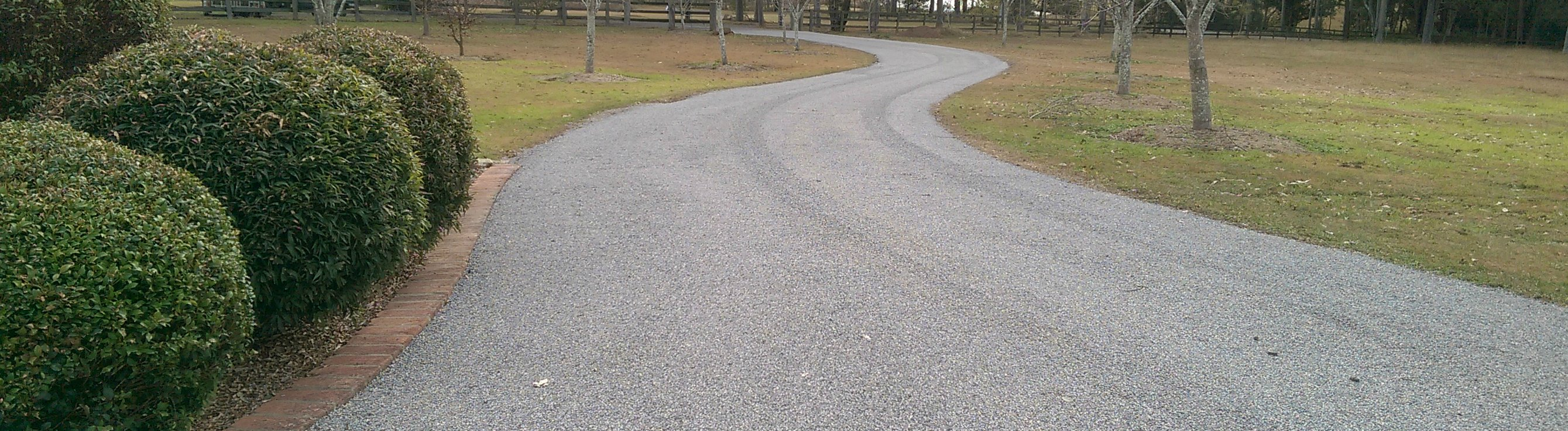 Bitumen repairs hunter valley hunter valley bitumen for Temperature to pour concrete driveway