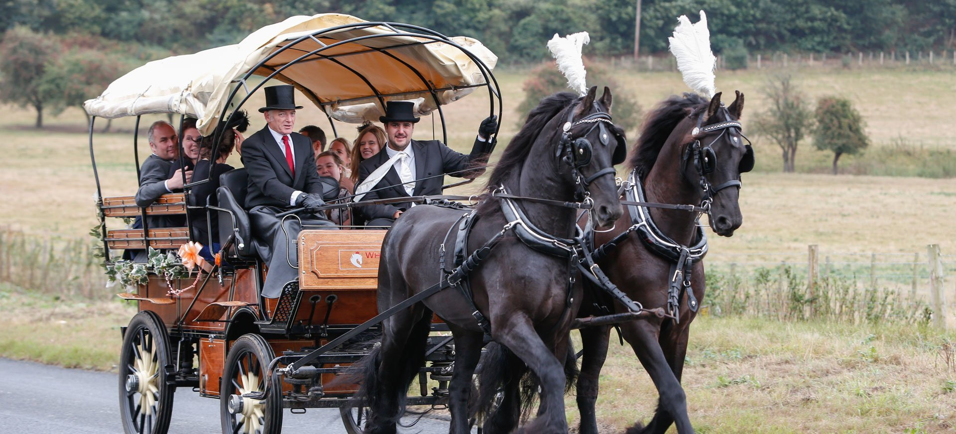 Funeral hearse carriages