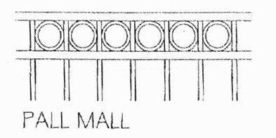 pall Mall external balustrading Tarosa Stairs