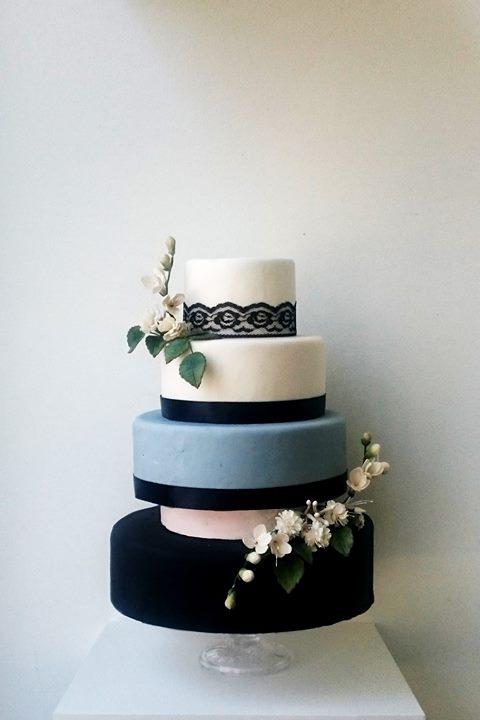 Bruidstaart Modern Elegant