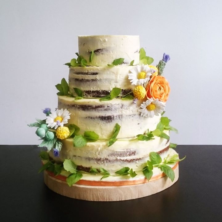 Bruidstaart Carrotcake Nakedcake