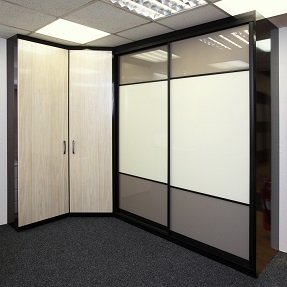 Sliding and traditional wardrobes