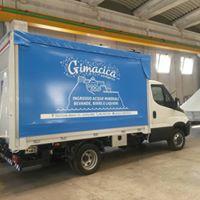 camion con scritta gimacica