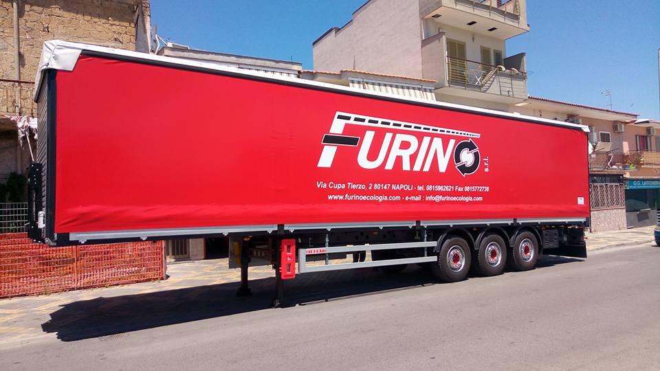 camion con scritta furin