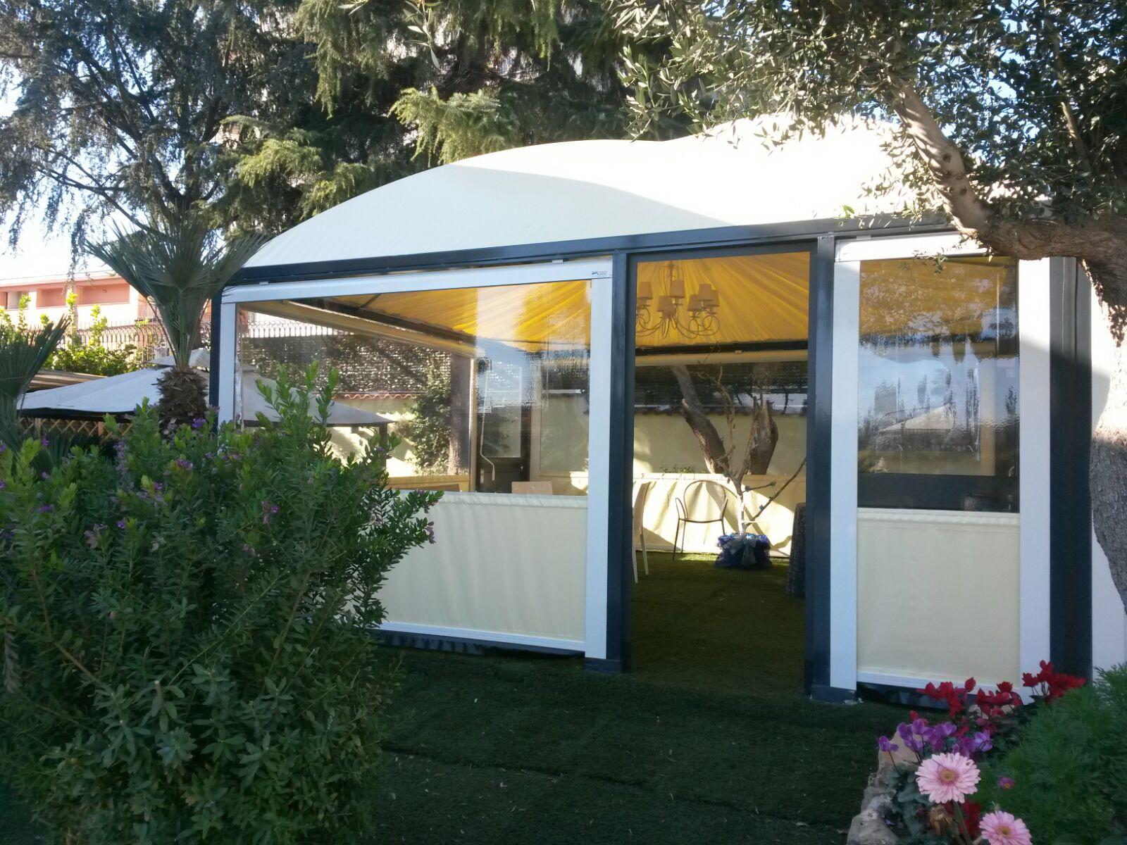 gazebo mobile per giardino privato