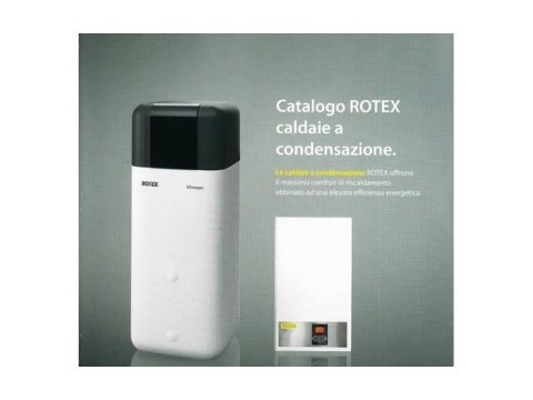 Rotex caldie a condensazione