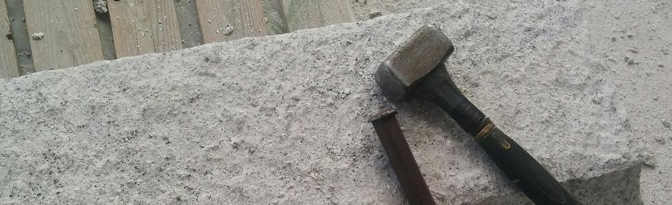 lavorazione artigianale granito