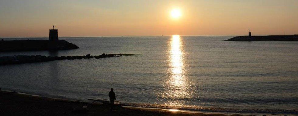 tramonto recco