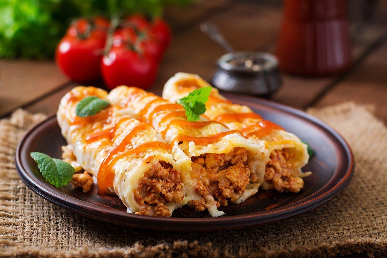 Cannelloni ripieni di carne