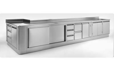 Cucine industriali ambach gico euroinox tione di for Vendita cucine trento