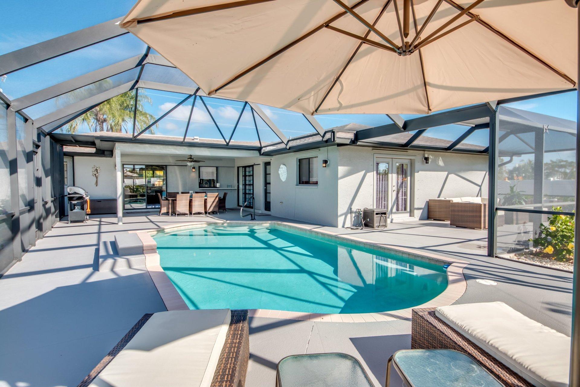 Ferienhaus für 6 Personen mit Pool | Villa Lion\'s Garden
