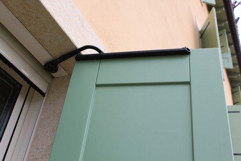 porta verde automatizzata