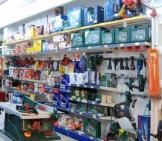 interno negozio, reparto casa, articoli giardinaggio