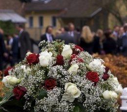 corona fiori lutto