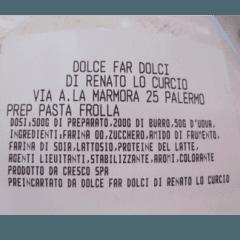 Praparato pasta frolla, preparati dolci siciliani