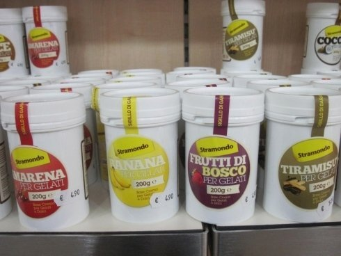 Base crema per gelato e dolci