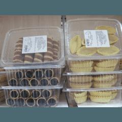 Barchette pasta frolla, sigarette dolci