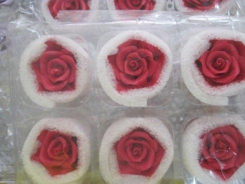 Rose per torte, fiori decorazione torta