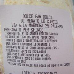Preparato per sfinge, ricette dolci siciliani
