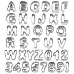 Taglia pasta alluminio, taglia pasta lettere