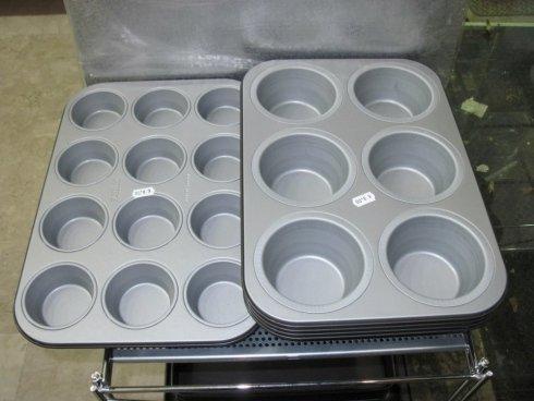 Teglia in acciaio muffin